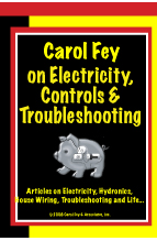 Carol Fey on Electricity, Controls & Troubleshooting